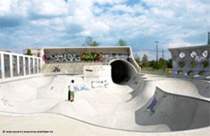 Skater Park München Hirschgarten